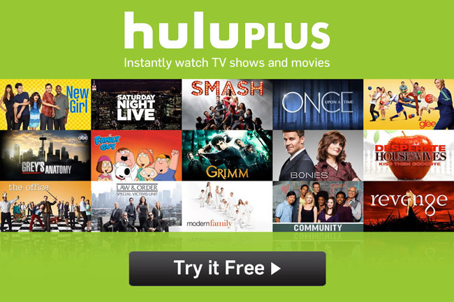 Step Two – Signing up for a free HuluPlus account